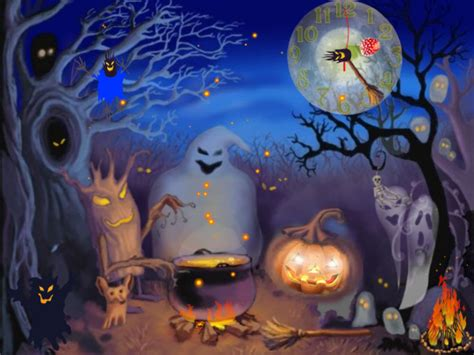Happy Halloween Live Animated Wallpaper  Free Download