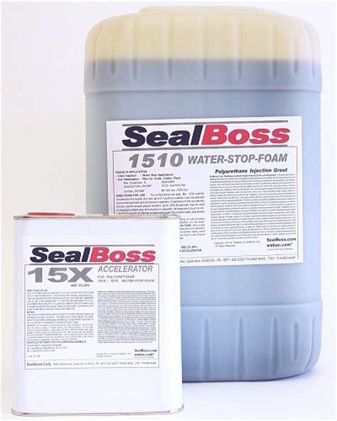 sealboss  water stop foam polyurethane foam grout