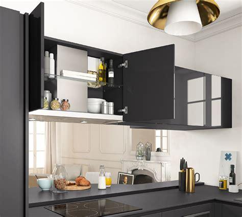 amenager une cuisine de 6m2 awesome la hotte touchuinbox intgre dans un meuble haut se