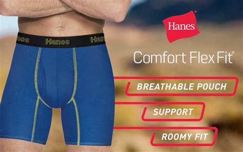 hanes comfort flex fit hanes intros undies with kangaroo kick 03 12 2018