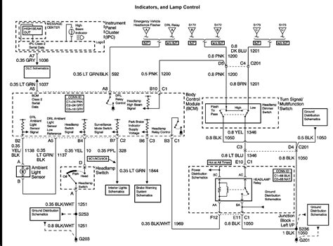 2005 Chevy Impala Ignition Switch Wiring Diagram by Lights Dont Work On A 2003 Chevy Impala Need Wire