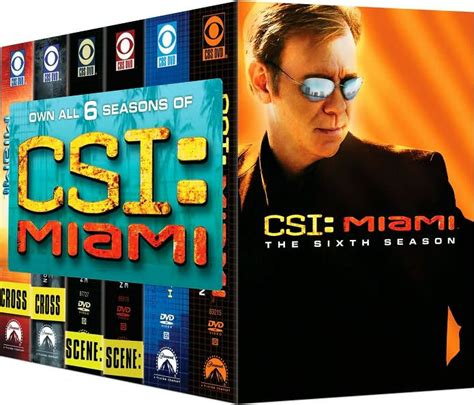 Miami Six Season Pack By Jon Bernthal, Tom Sizemore