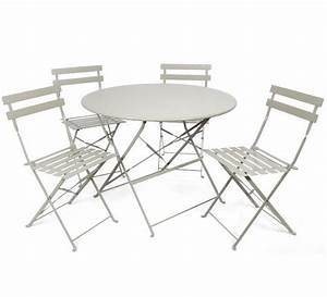 best 25 table ronde ideas on pinterest table ronde With table jardin metal ronde pliante 0 table pliante ronde cytadine 4 chaises metal table