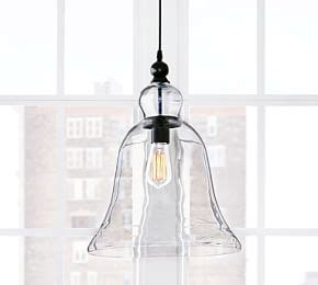 Pottery Barn Large Rustic Glass Pendant by Rustic Glass 5 Light Pendant Pottery Barn