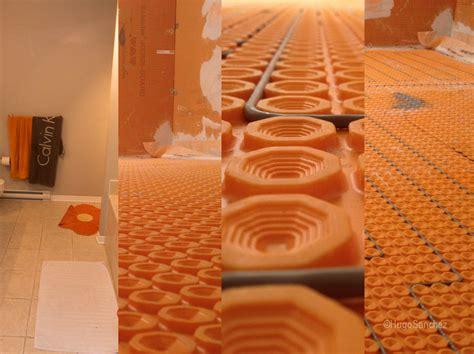 heated shower floor c 233 ramiques hugo sanchez inc