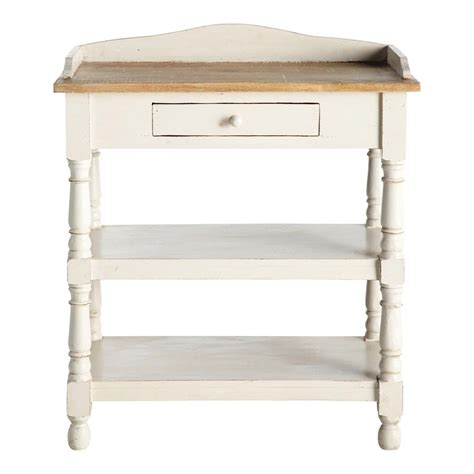 white wood console table solid mango wood console table in white w 77cm amelie