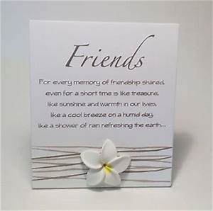 Splosh Friends Poem Plaque Friendship Gift Ideas for Her