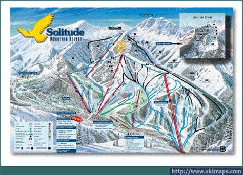 solitude ski resort guide location map solitude ski