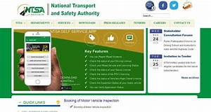 Ntsa Inspection Booking Kenya Requirements  U0026 Procedure