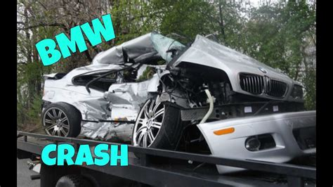 stupid bmw crash compilation brutal bmw accident part