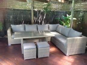 outdoor lounge sofa outdoor furniture evolution dining out in comfort outdoor elegance