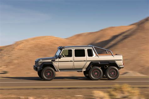 Even though mercedes never officially imported it to the u.s. Mercedes G-Wagon 6x6 - cars & life | cars fashion lifestyle blog