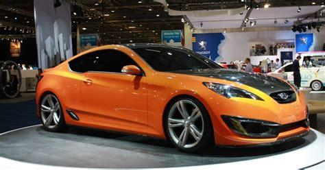 Hyundai Genesis Coupe 2008 London Motorshow
