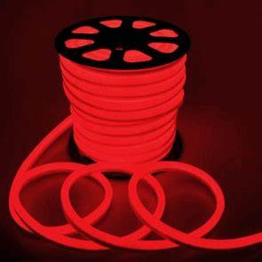 Flex LED Neon Rope Light Red 150 Holiday Decorative Lighting