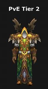 Transmogrification Druid Pve Tier 2 Set  Wod 6 2