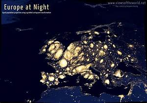Europe at Night - Views of the World