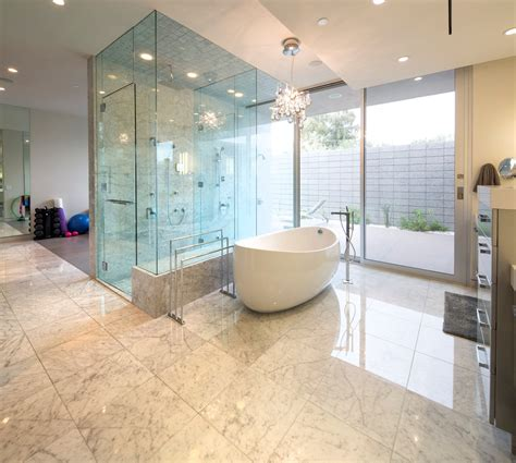 Modern Bathroom Design With Shower by Glass Shower Modern Bathroom Mid Century Modern Home In