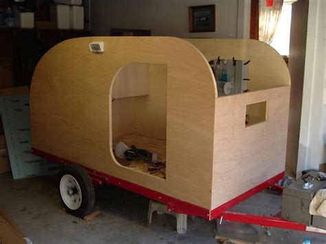 build   teardrop trailer   ground   owner builder network