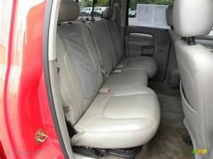 2005 Dodge Ram 2500 Laramie Quad Cab Rear Seat Photo