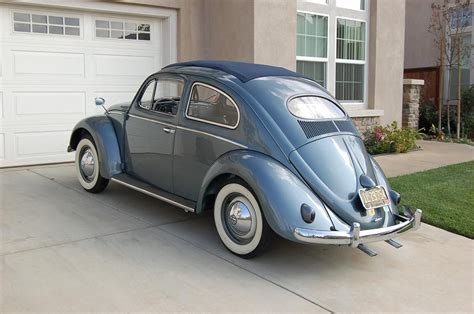 1954 vw beetle in l227 strato silver like the colour and