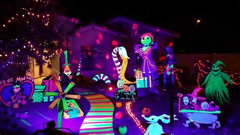 black light halloween decorations with we adore this glow in the dark greenvirals style