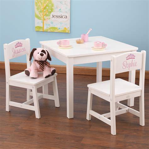 table et chaises enfant en bois