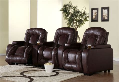 rhumba bonded leather home theatre seating psr 41918