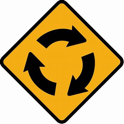 Sign Ireland Roundabout Road Svg Signs Traffic