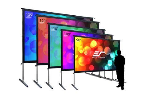 outdoor projector screen  movies elite screens
