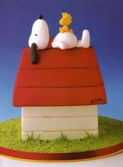 snoopy  woodstock  doghouse cake beautiful cakes