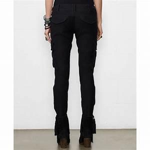Denim & supply ralph lauren Skinny Cargo Pants in Black   Lyst