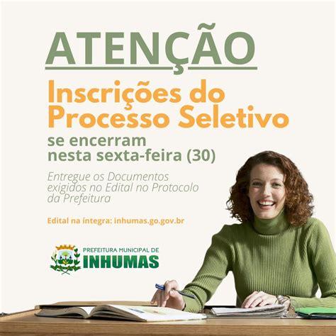 PREFEITURA INHUMAS Abre Processo Seletivo para Educação ...
