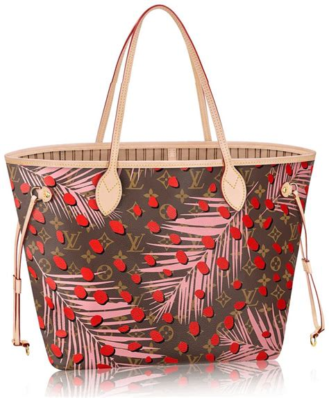 louis vuitton monogram canvas jungle dots bag collection