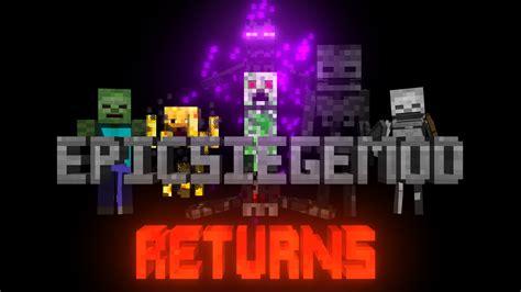 siege minecraft epic siege mod mobs minecraft mods curse
