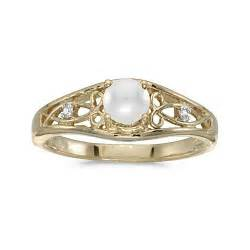pearl wedding rings yellow gold pearl engagement ring engagement rings review