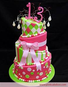 cakes for teenage girls | 13th Birthday Party Ideas For ...