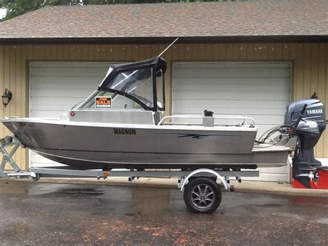 Aluminum Boats Used Victoria by 20 Magnum Style Bow Rider Welded Aluminum Boat Outside