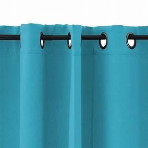 Double Rideau Bleu : rideau turquoise zakelijksportnetwerkoost ~ Teatrodelosmanantiales.com Idées de Décoration