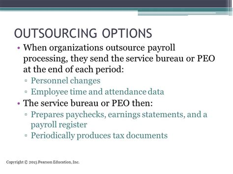 payroll bureau services the human resources management and payroll cycle ppt