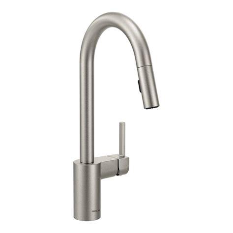 moen kleo kitchen faucet moen kleo single handle pull sprayer kitchen faucet