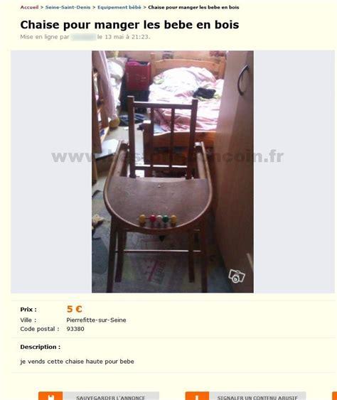 chaise de bebe pour manger chaise pour manger les bebe equipement b 233 b 233 206 le de best of le bon coin