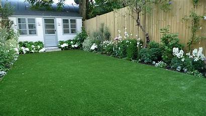 Grass Flower Lawn Planting Summer Paving Scheme