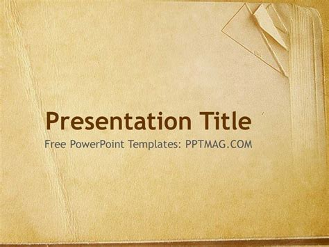 book paper powerpoint template pptmag