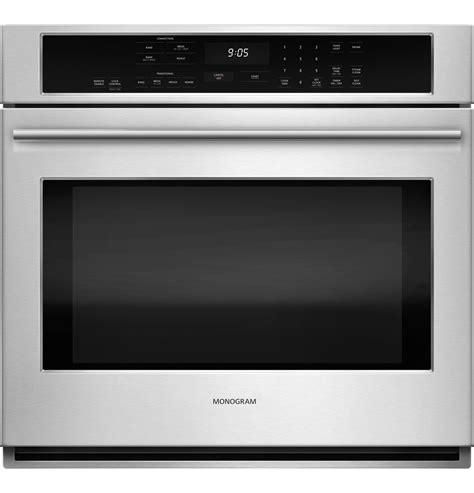 monogram  electric convection single wall oven zetshss ge appliances