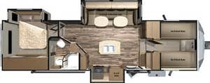 Fifth Wheel Bunkhouse Floor Plans by Travel Trailer Front Bunkhouse Floor Plans