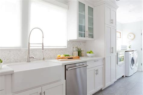 kitchen laundry ideas kitchen and laundry room combo design transitional kitchen