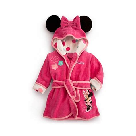 robe de chambre disney towel robes 2015 fall pink robe nightgown