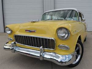 1955 Chevy 2 Door Wagon  327 V8  Four Speed Manual