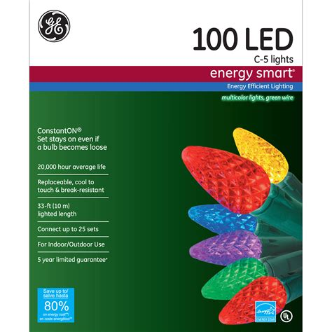 general electric energy smart 174 100ct led c5