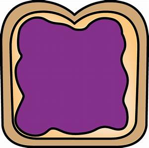 Bread with Jelly Clip Art - Bread with Jelly Image